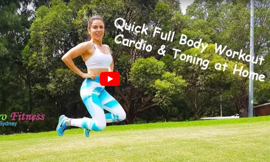 Quick Full Body Cardio and Toning Workout