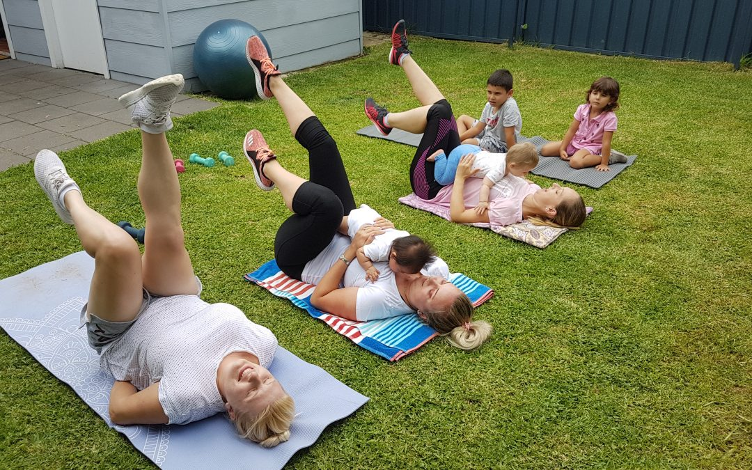 Mums & Bubs Group Fitness Leichhardt is now running.