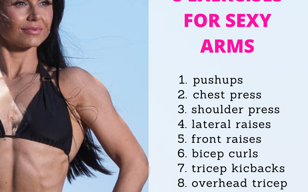 8 dumbbell exercises for sexy arms
