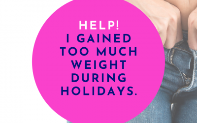 How to get back on track with fitness and diet after holidays.