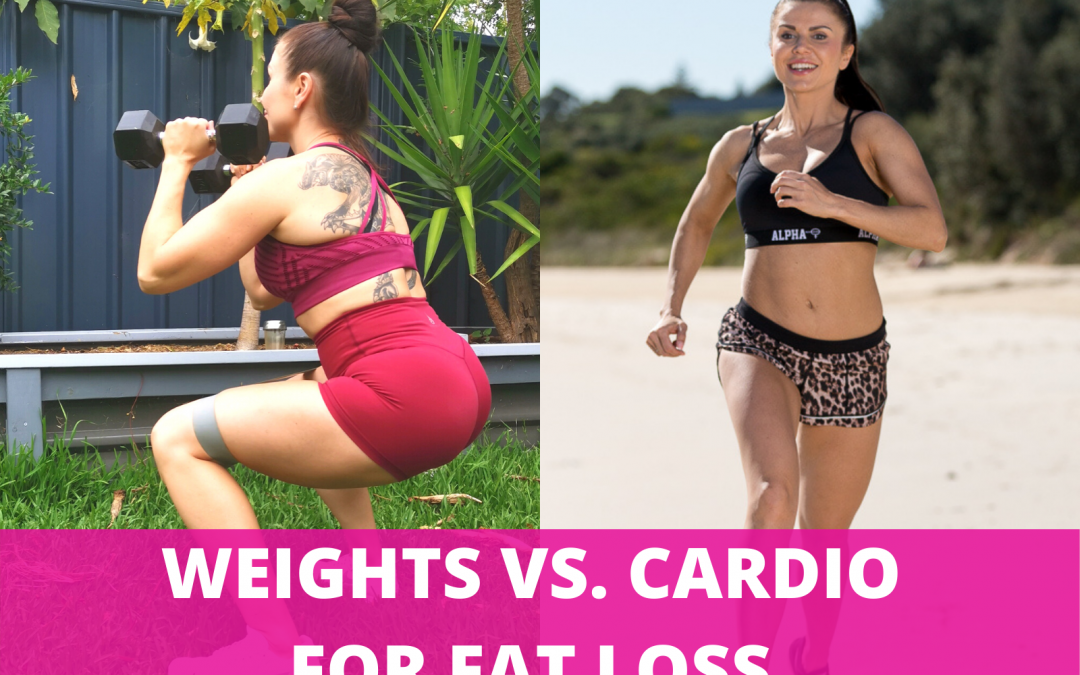 Which is better for fat loss, weights or cardio?